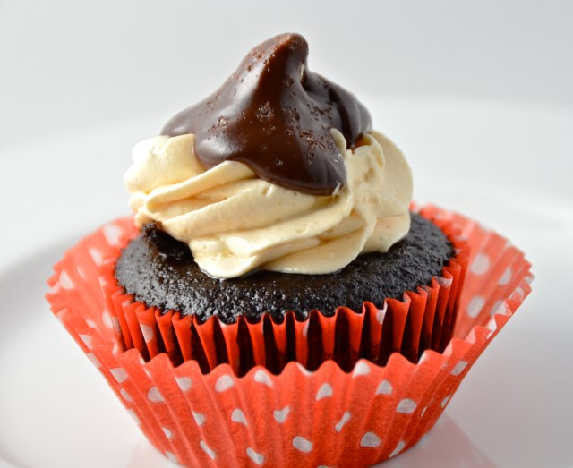 Chocolate Salted Caramel Cupcake