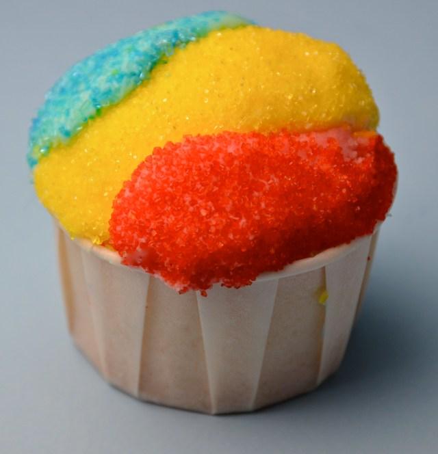 Snow Cone Cupcake
