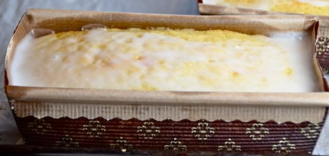 Lemony Lemon Tea Bread