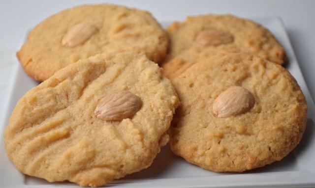 Marcona Almond Butter Cookies