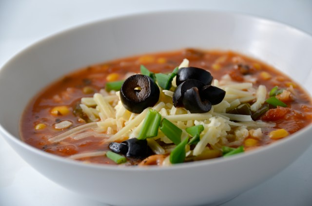 5 Minute Southwestern Soup