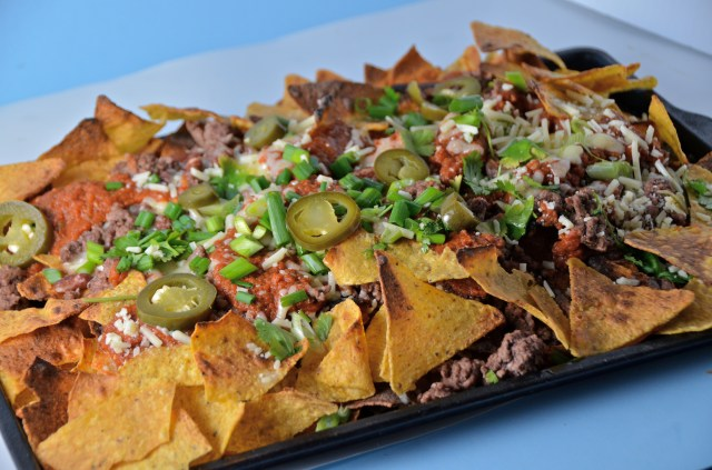 Beef Nachos With Blender Salsa