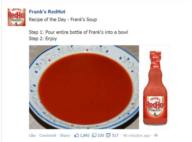 FranksRedHotSoup