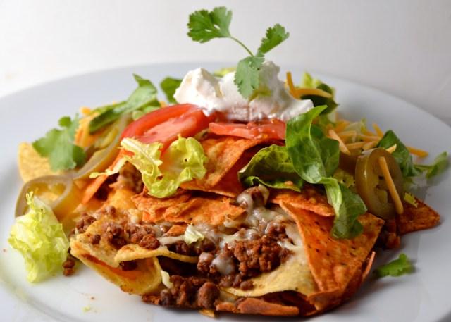 Taco Bell Inspired Doritos Taco Bake