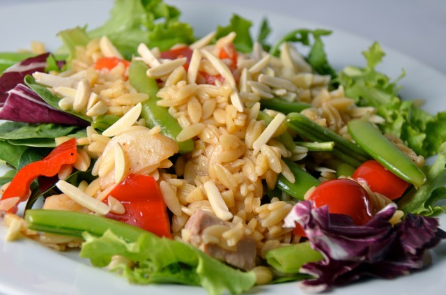 Asian Chicken And Orzo Salad