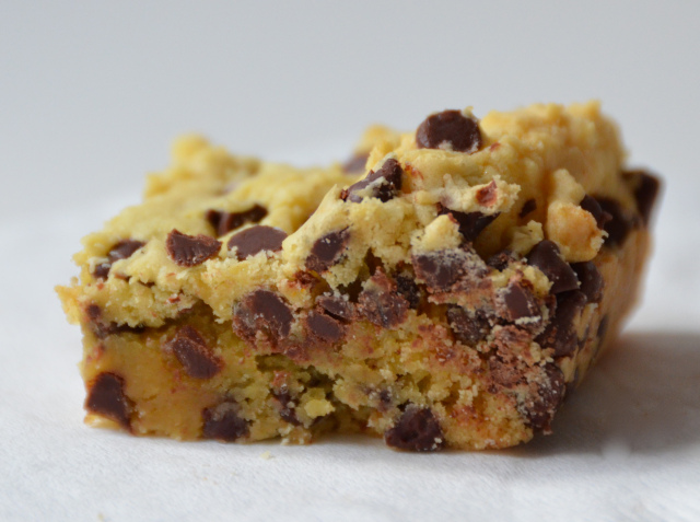 Lazy Cake Cookie Bars