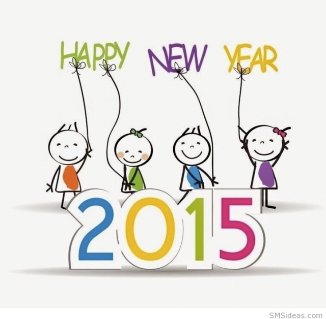 Funny-Happy-New-Year-2015-Kids-Wallpaper
