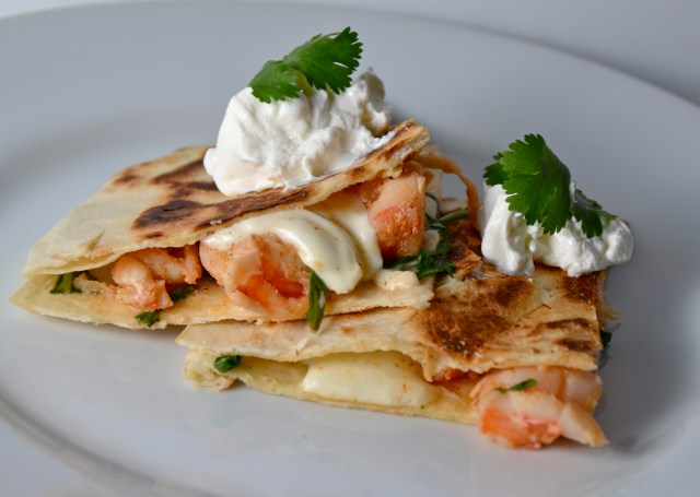 Zesty Shrimp Quesadillas