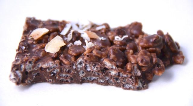 Crunchy Chocolate Coconut Bark