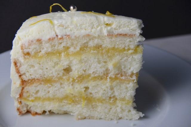 Triple Lemon Layer Cake