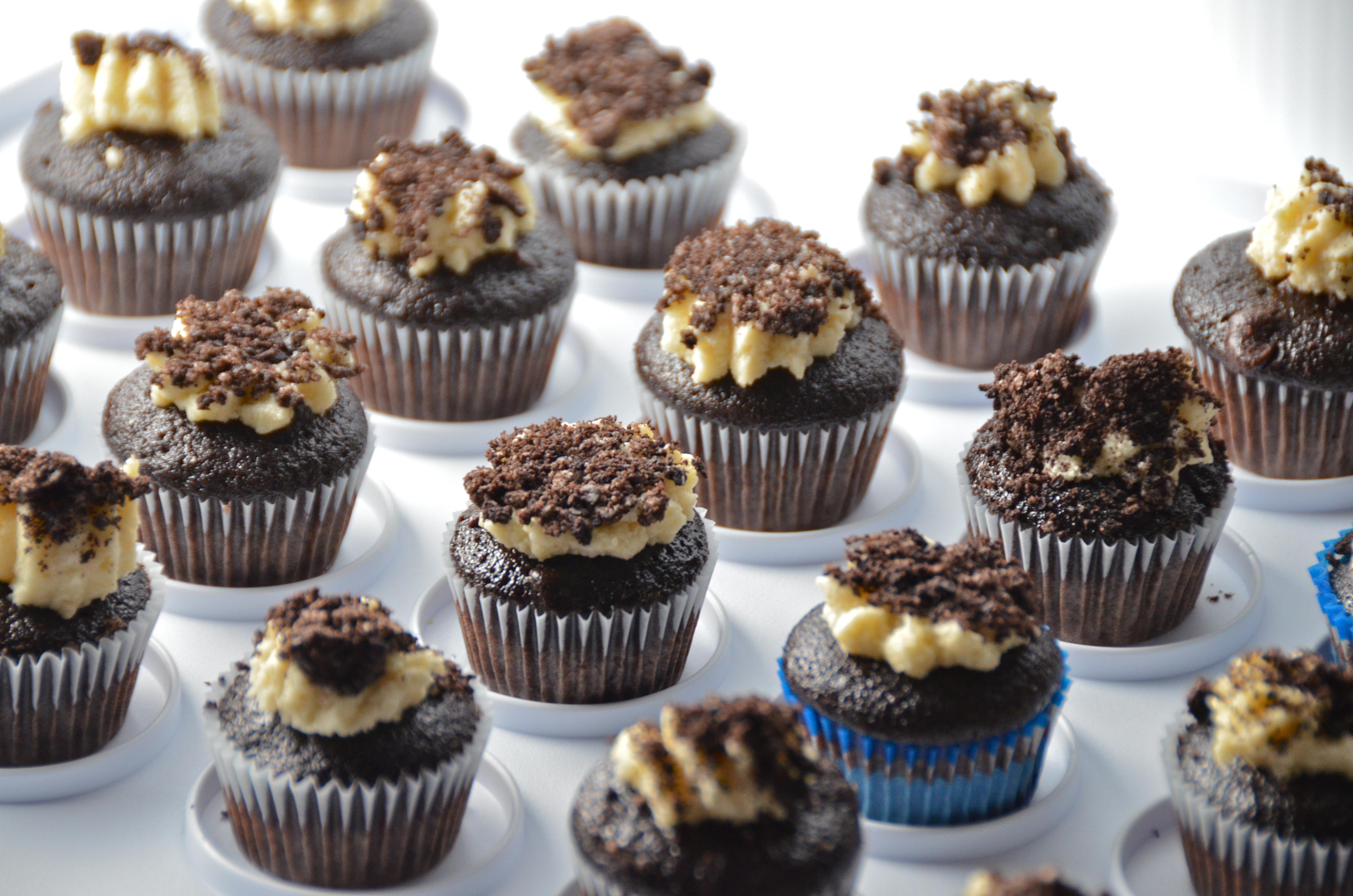 Short And Sweet. Mini Cupcakes. Chocolate Salted Caramel