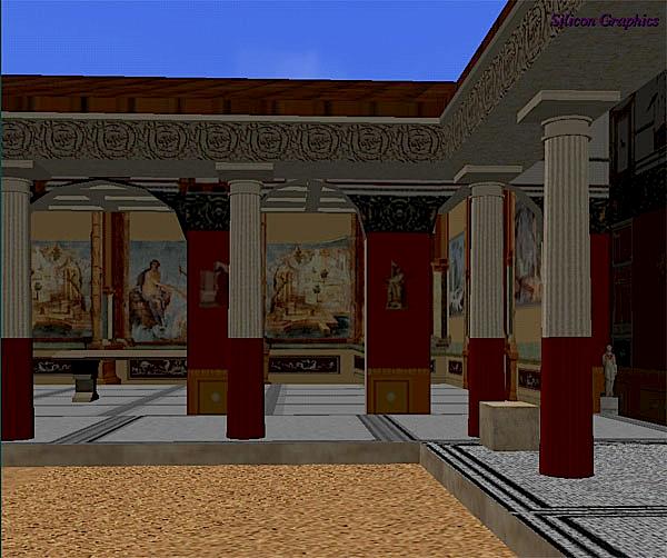 Temple of Isis Pompeii