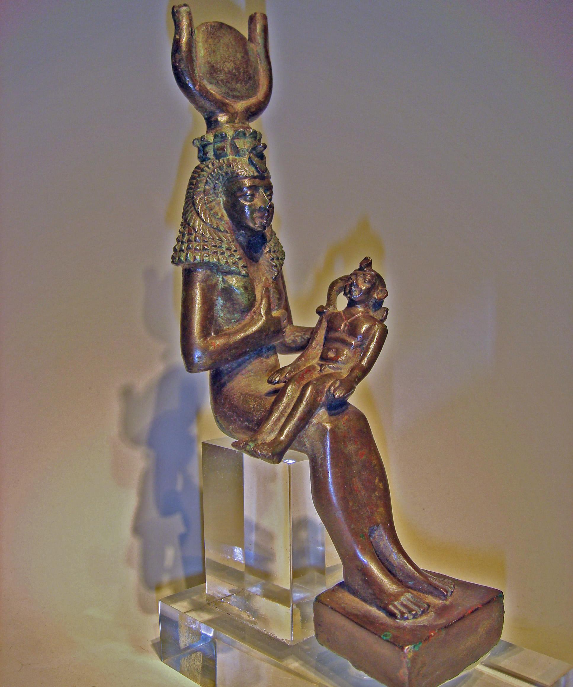 Egyptian Isis Lactans