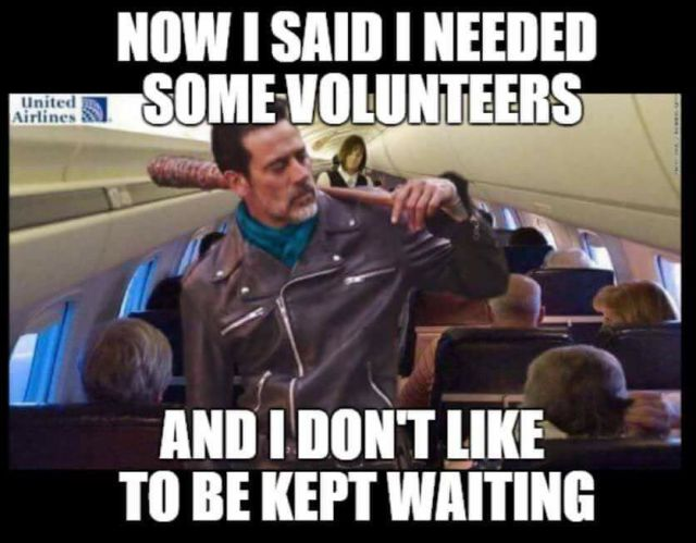 United Airlines PR Fiasco Memes Well