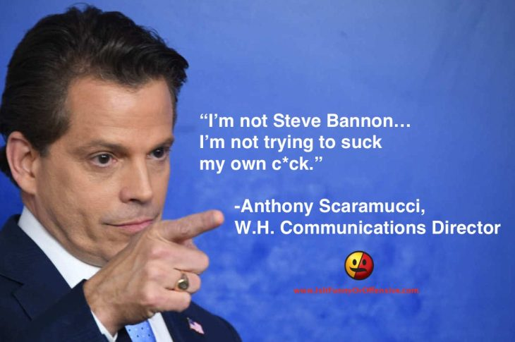 Anthony Scaramucci Unloads in NSFW Interview