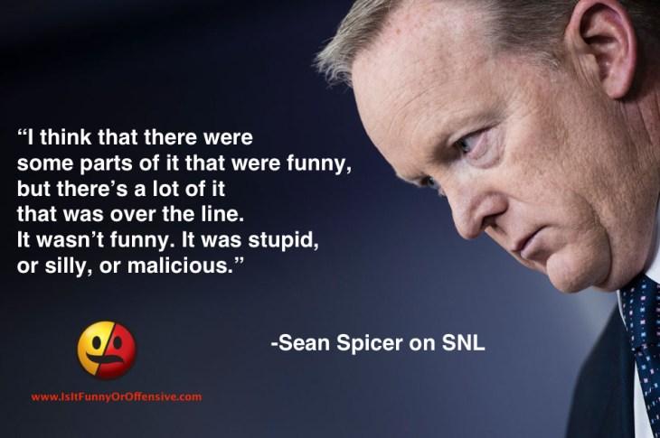 Sean Spicer on SNL