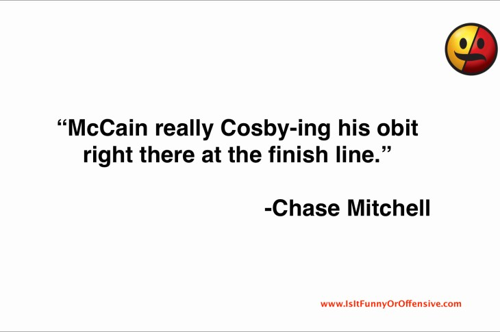 Chase Mitchell on John McCain Healthcare Vote