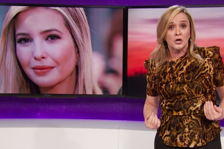 Samantha Bee Slammed For Calling Ivanka Trump a 'Feckless C**t'