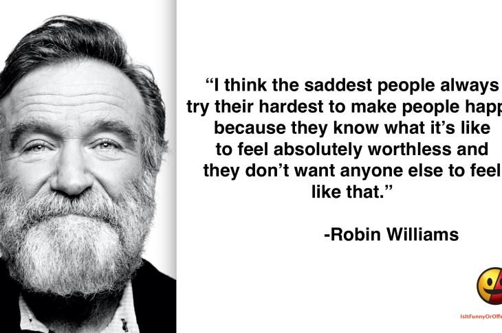 Robin Williams on Depression
