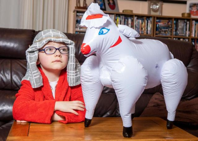 Mom Accidentally Sends Five-Year-Old Son To Nativity Play With Sheep Sex Doll