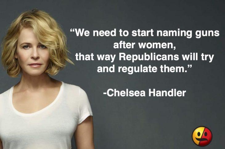 Chelsea Handler on Guns