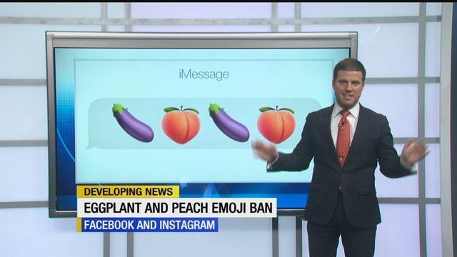 Facebook eggplant peach ban