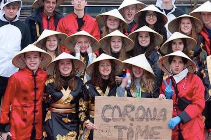 chinese corona time students