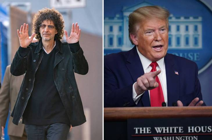 Howard Stern Tells Trump Supporters To Take Clorox and Drop Dead