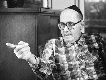 Pinchas Lapide (28.11.1922 - 23.10.1997), jüdischer Religionswissenschaftler