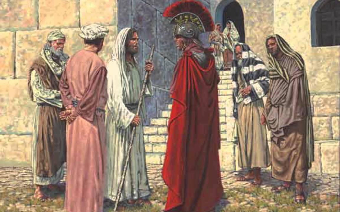 Image result for jesus and centurion