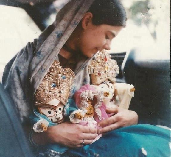 Mother Hladini   ISKCON Bangalore