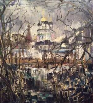 Ольга Симонова, Лирика серого дня. Иосифо-Волоцкий монастырь