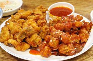 【韓國-釜山自由行-必吃消夜一條街-美食】♫幸福雞韓式炸雞、Dippin' Dots_Mini Melts粒粒冰淇淋