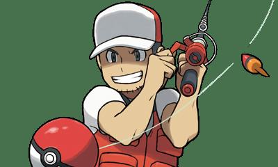 Pescando en Pokémon