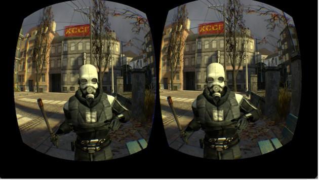 Half-Life 2 muestra de RV