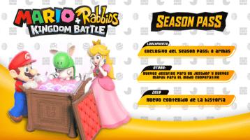 Mario + Rabbids Kingdom Battle muestra el contenido de su Season Pass