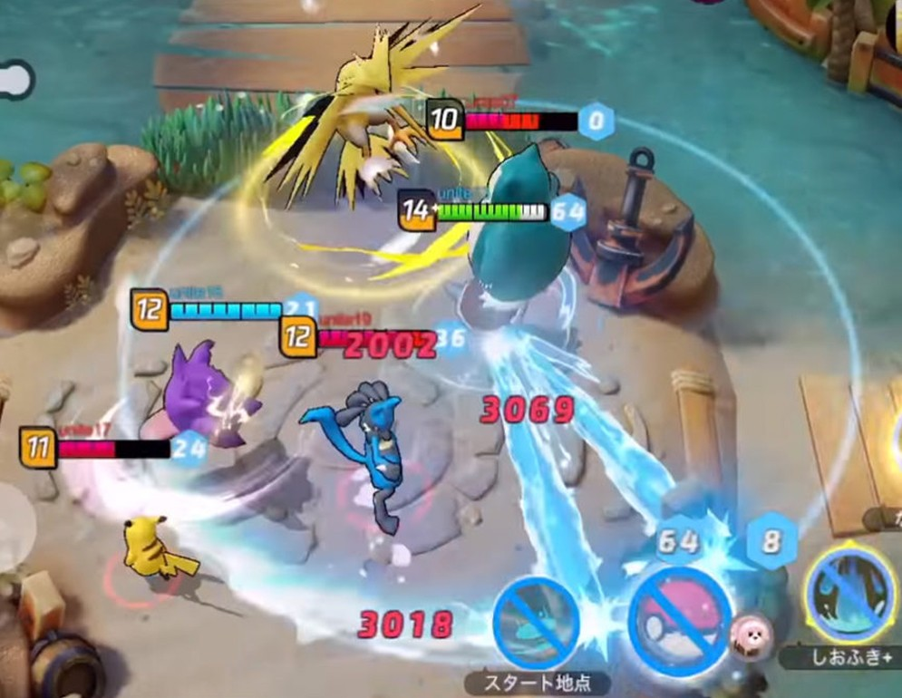 Pokémon Unite, el primer MOBA de Nintendo