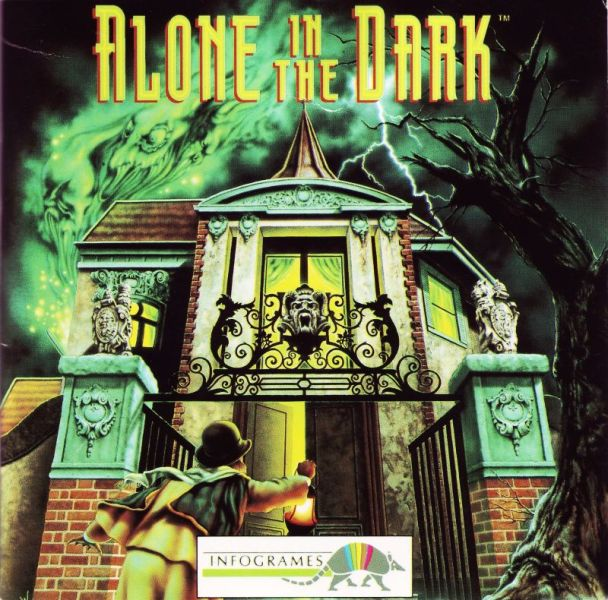 Alone in the Dark Portada