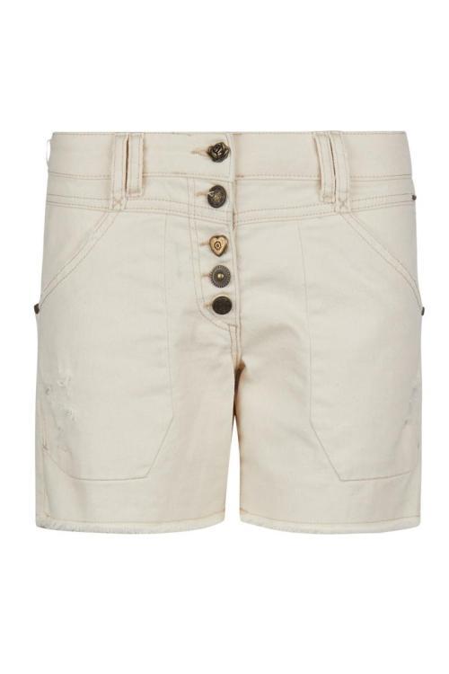 Short Jeans - Cream