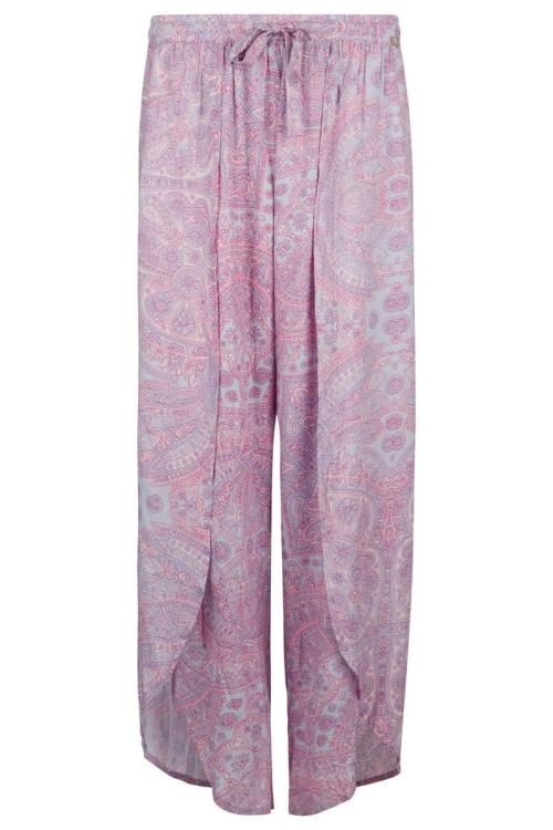 Bohemian Paisley Pants Lila - Purple