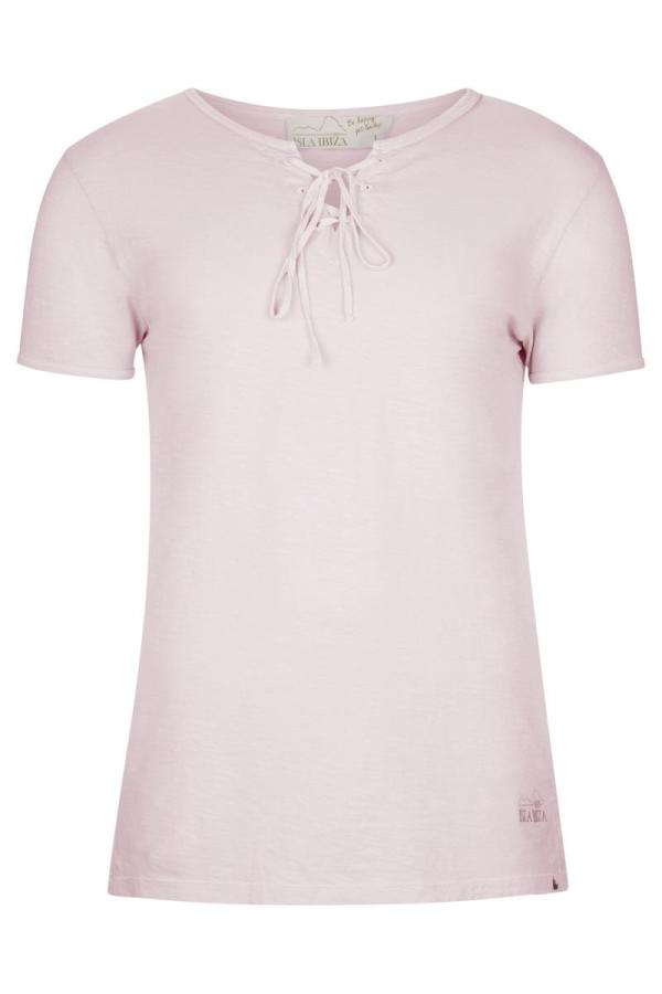 Basic Bowknot Men's T-Shirt Soft - Pink
