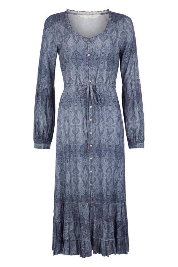 Ton Sur Ton Maxi Dress All Over Printed Jeans - Blue