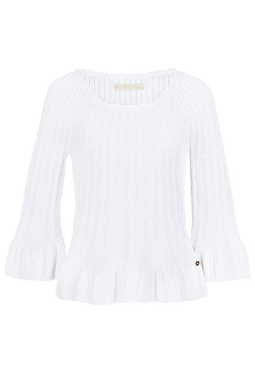 Knitted Jumper Lola - White