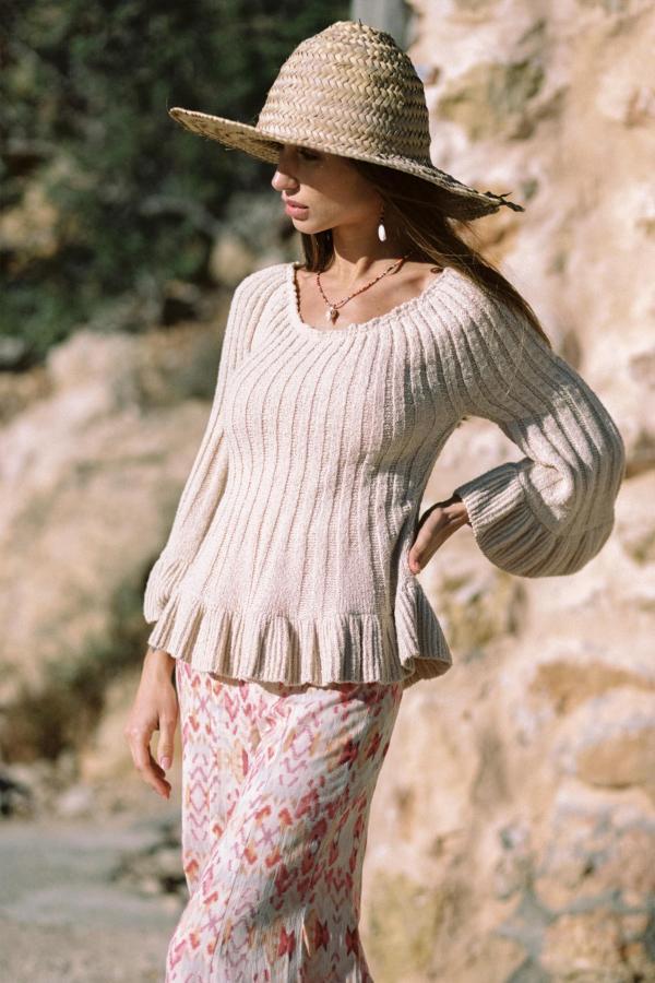 Knitted Jumper Lola - Cream