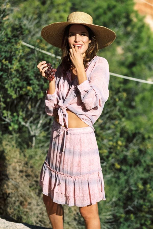 Short Skirt Lotus Lavender - Pink