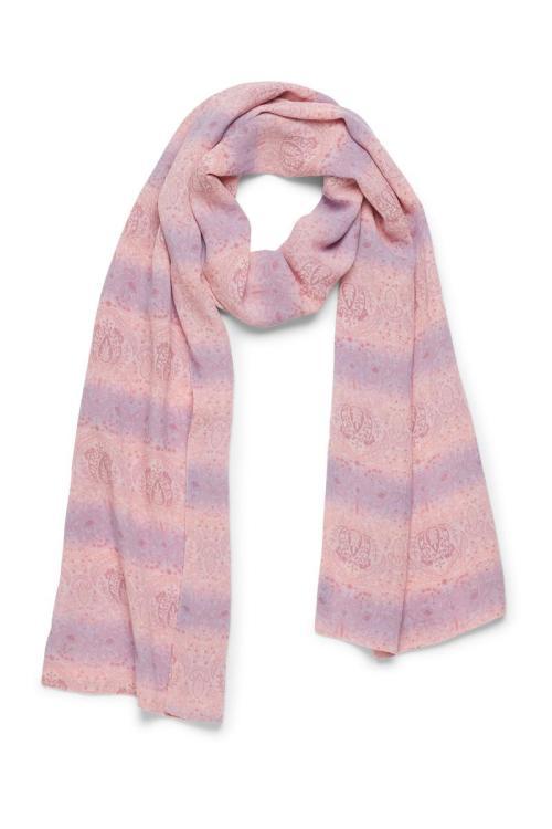 Scarf Lotus Lavender - Pink