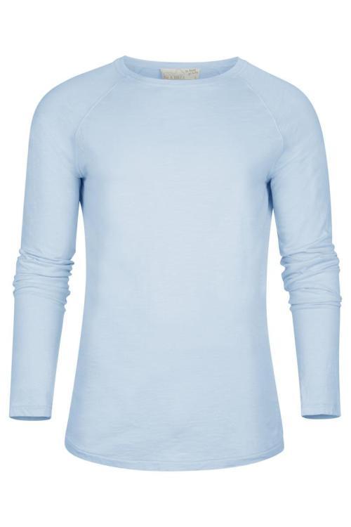 Basic Long Sleeve T'Shirt Eivissa - Blue