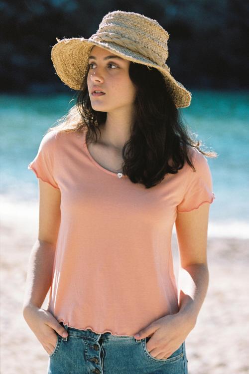 Short Sleeved T-Shirt Balearic - Orange