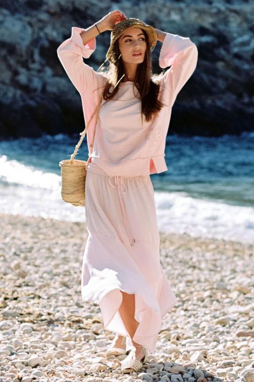 Long Skirt Salada - Pink