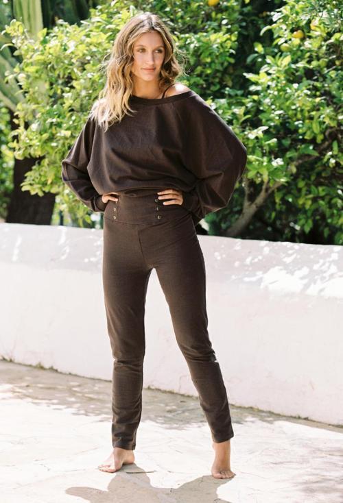 Soft Trousers Mastella - Brown